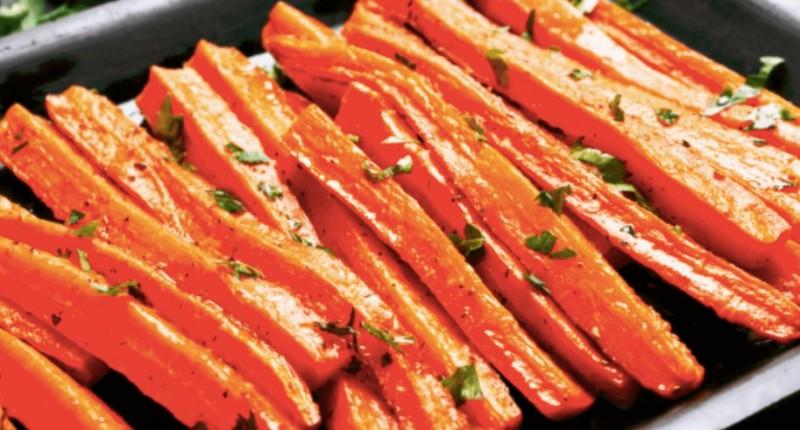 Originální příprava jemná mrkev vhodná jako příloha i samostatně recept
