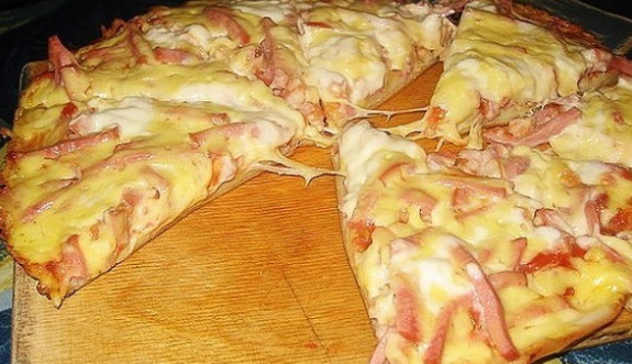 Superrychlá pizza z pánve