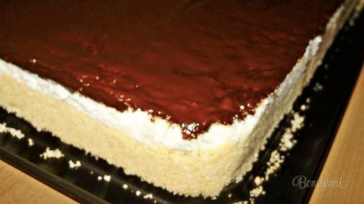 Hříšně dobrý domácí tvarohový koláč recept