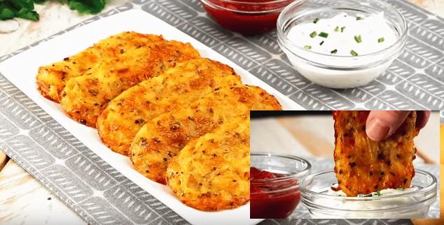 Chutné bramboráky bez oleje, ze kterých nepřiberete recept
