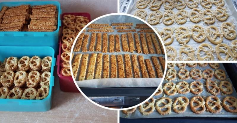 Sýrové tyčinky a preclíky z jednoho těsta se speciální ingrediencí recept