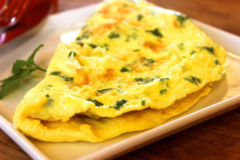 Připravme si jarní omeletu