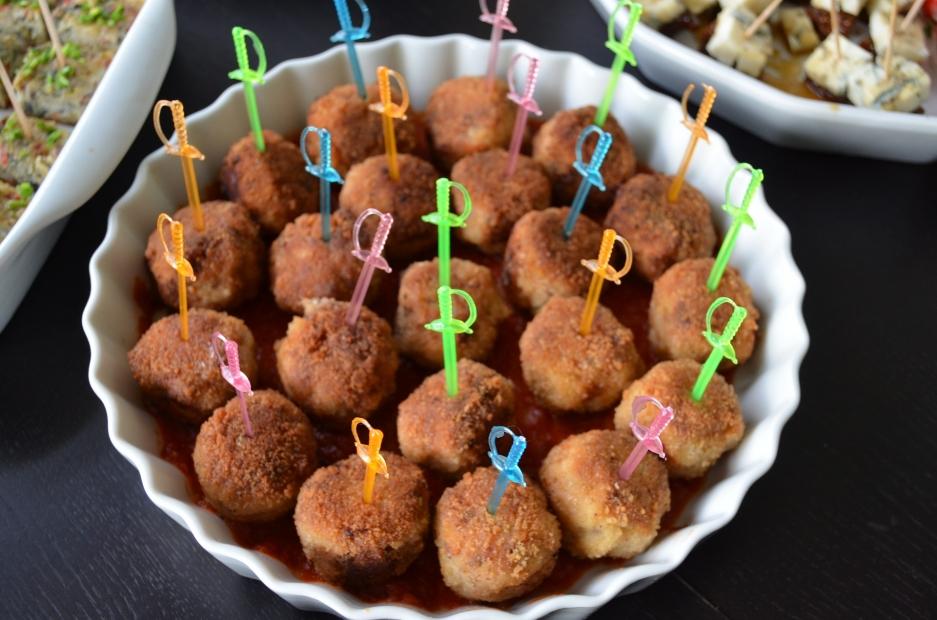 Mini kuličky, aneb Charlestonské karbanátky vhodné pro každou párty