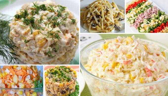 8 skvělých nápadů na chutné saláty s kukuřicí