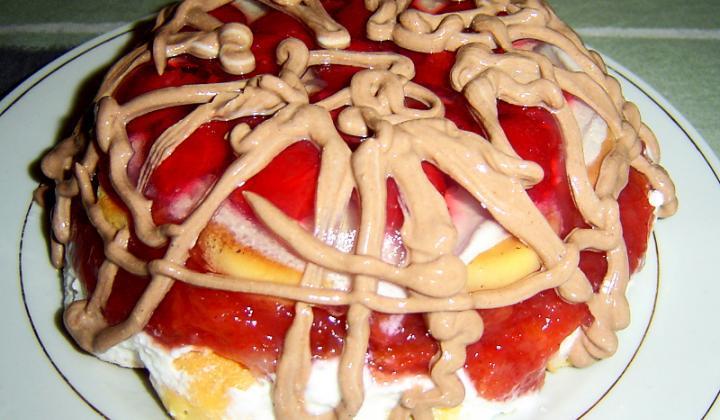 Jak udělat ovocný nepečený dort   recept