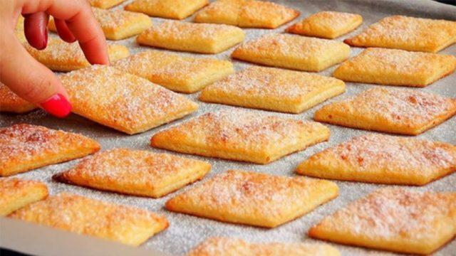 Tyto tvarohové sušenky peču téměř nonstop: Neuvěřitelně chutné občerstvení, hotové za pár minut !