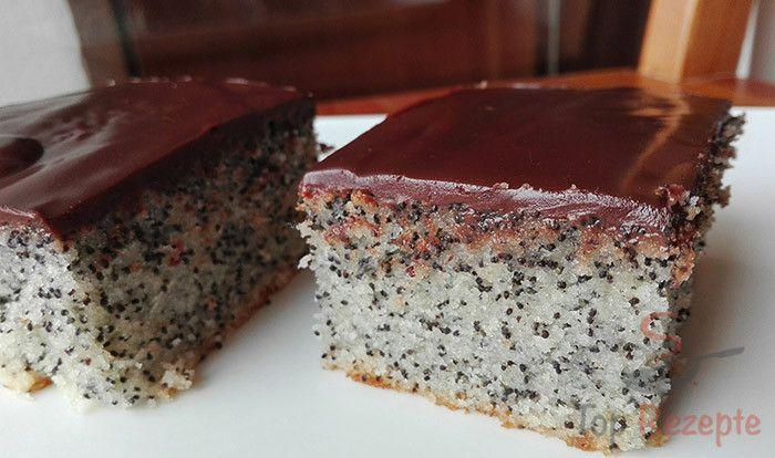 Makový koláč připravený za 10 minut