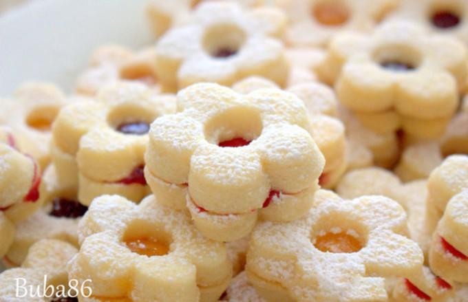 Jemné, křehké a na přípravu jednoduché vanilkové pečivo