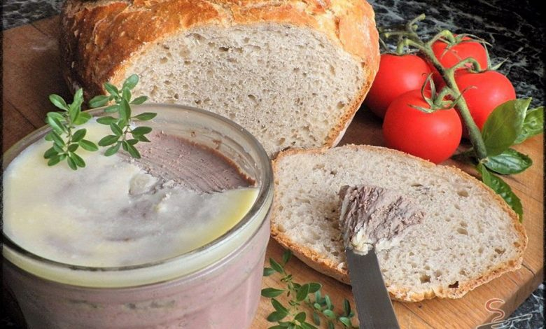 Rychlá domácí játrovka a chléb bez hnětení