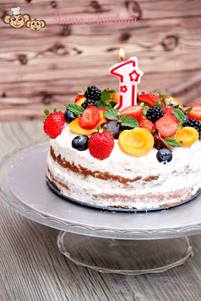 Miminkovský dort (nejen) k prvním narozeninám