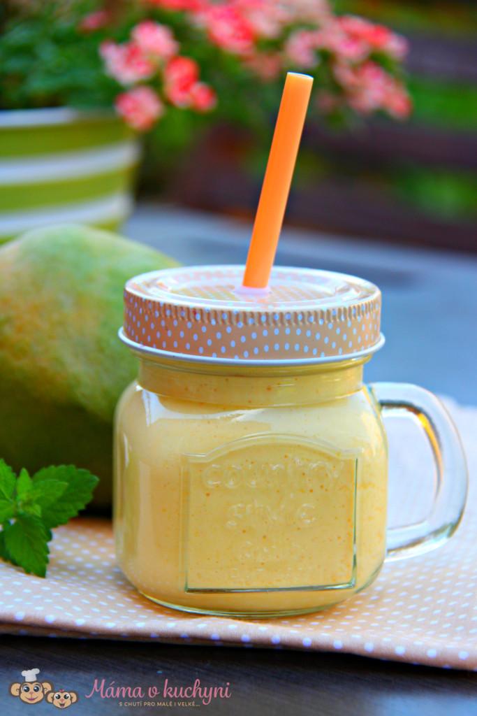 Mangové lassí (od 1 roku)