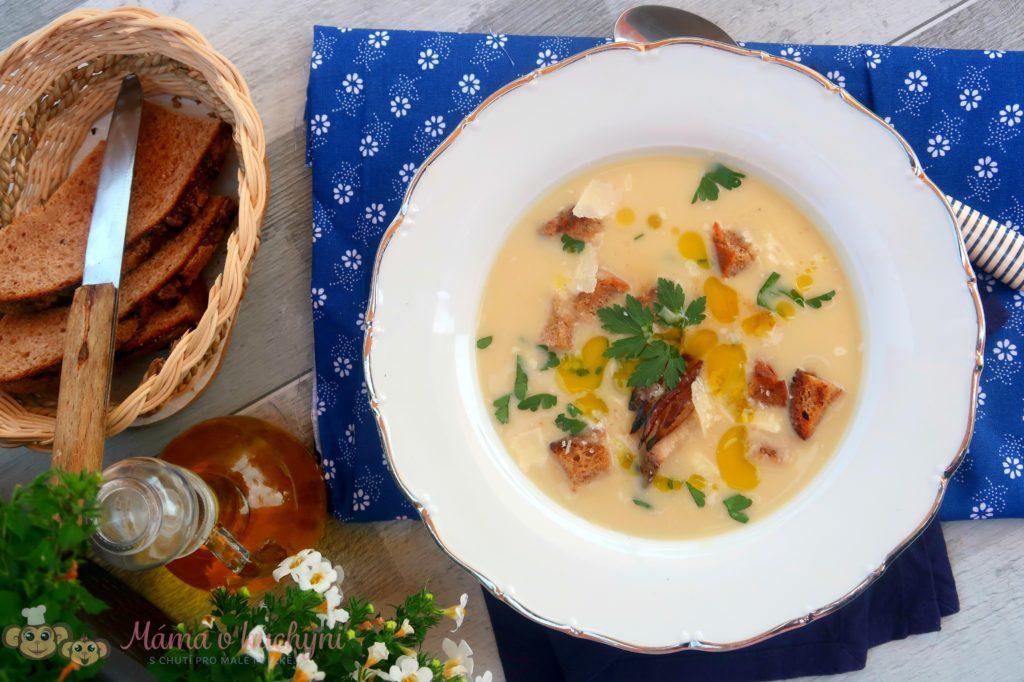 Bramborová krémová polévka (od 6 měsíců)