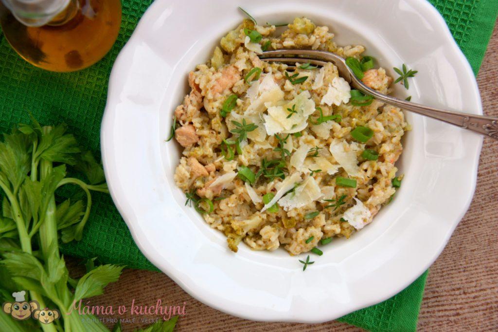 Brokolicové rizoto s kuřecím (od 7 měsíců)