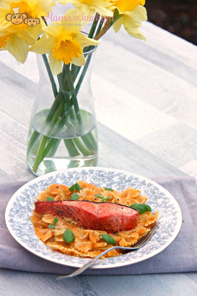 Těstoviny s mrkvovou omáčkou (od 7 měsíců)