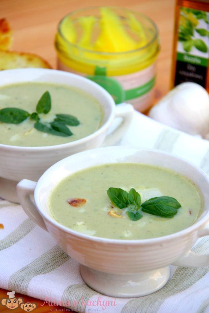 Cuketová krémová polévka (od 6 měsíců)