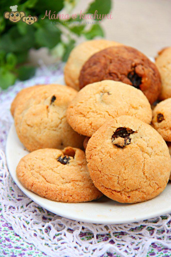 Křupavé sušenky s rozinkami (od 1 roku)