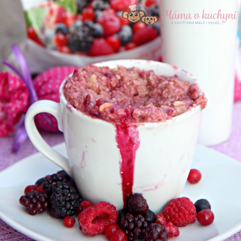 Mugcake s lesním ovocem (od 8 měsíců)