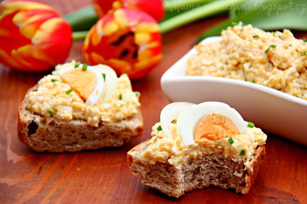 Cizrnovo-vajíčková pomazánka (od 1 roku)