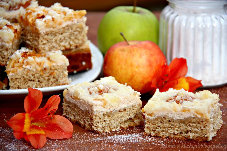 Kynutý drobenkový koláč s žitnou moukou (od 1 roku)