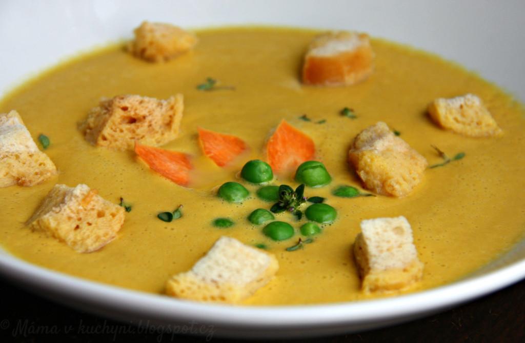 Krémová polévka z kořenové zeleniny (od 1 roku)