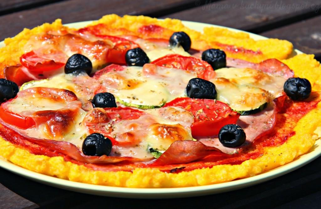 """Polentová """"pizza"""" (od 1 roku)"""