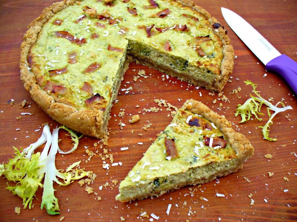 Špaldovo-žitný brokolicový quiche (od 1 roku)