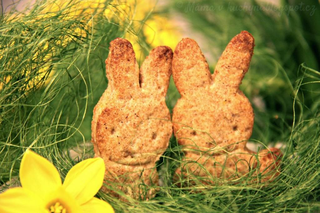 Zajíčkovy sušenky s vůní lékořice (od 9 měsíců)