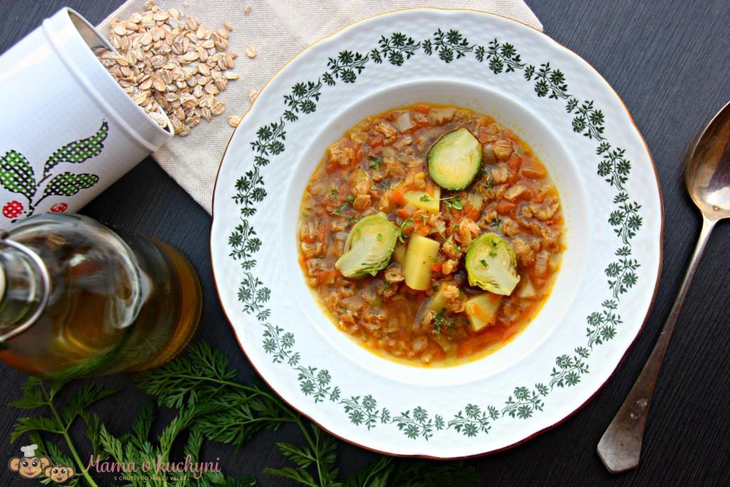 Blesková vločková polévka (od 7 měsíců)