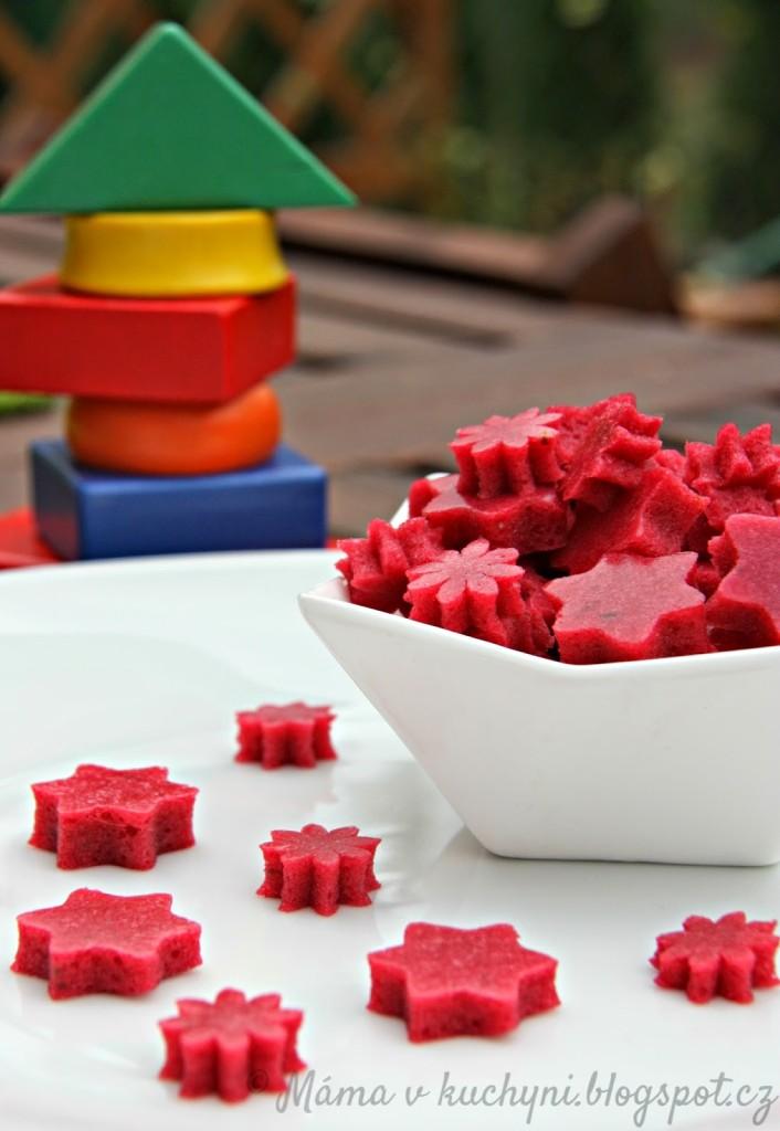 Domácí gumové bonbony alá medvídci (od 1 roku)