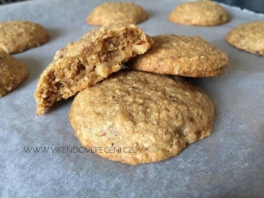 Ořechové cookies