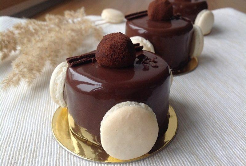 Makronkové dortíky