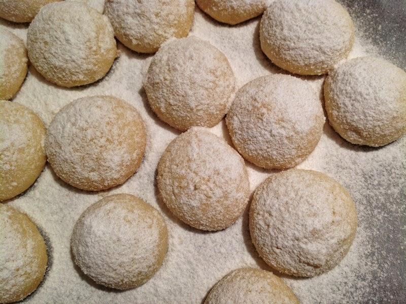 Máslové sušenky Melting moments