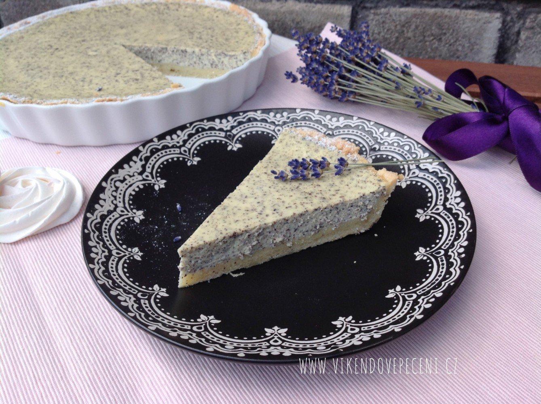 Tvarohový koláč s mákem