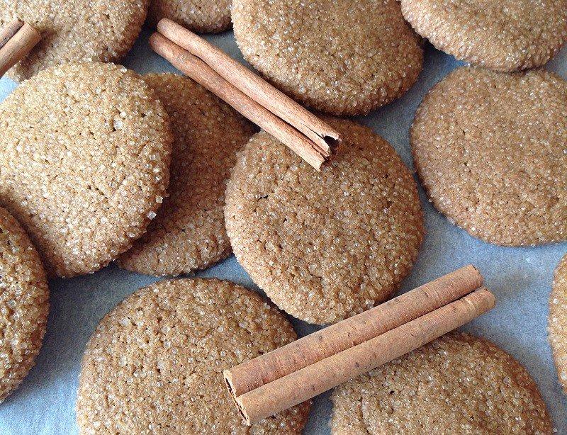 Skořicovo-zázvorové sušenky