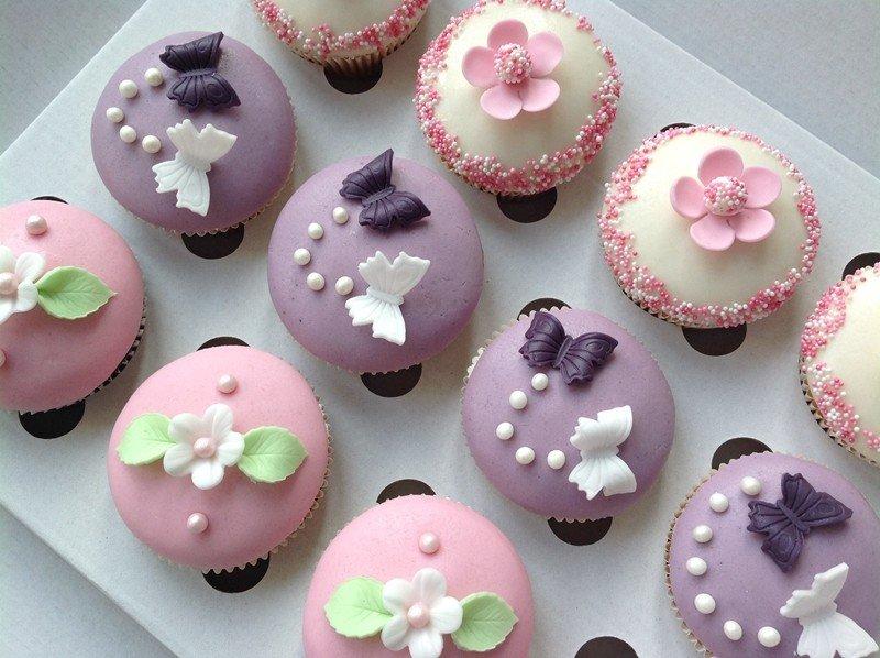Narozeninové cupcakes