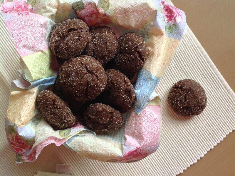 Čokoládové cookies se zázvorem