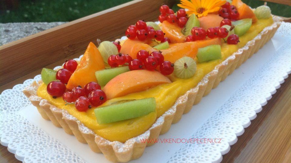 Tartaletky s mangovo-maracujovým krémem