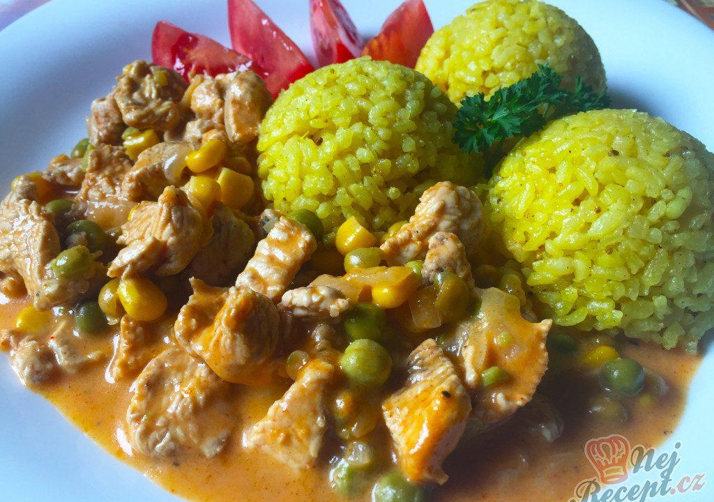 Krůtí soté s jasmínovou rýží