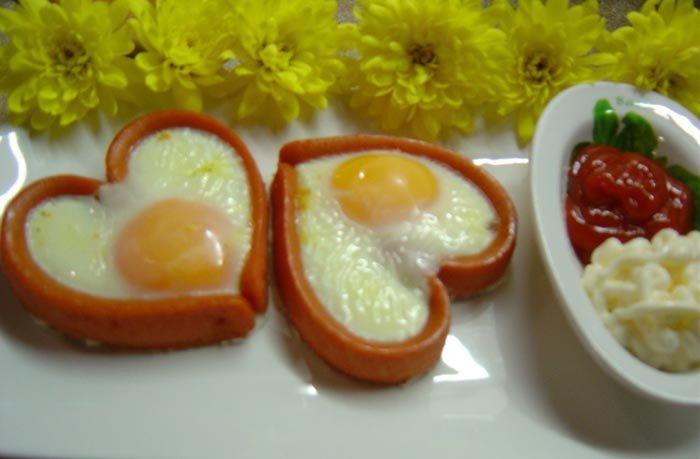 Valentýnská snídaně