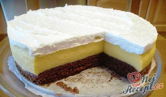 Vynikající katalánský dort